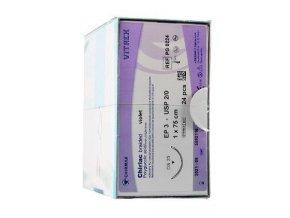 Chirlac PG0224-2 EP3,0 2/0 70cm, jehla DS25mm 3/8 24ks
