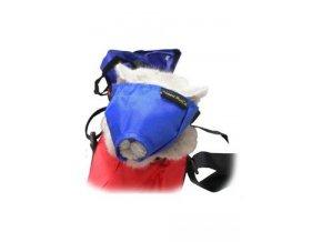 Náhubek fixační s přikrytím očí pro kočky M BUSTER