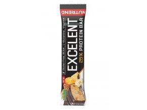 Nutrend Excelent Protein Bar Vanilka s ananasem 85g