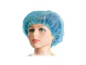 Čepice operační BARET Standard 52cm modrá 100ks