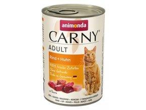 Animonda konz. kočka Adult hovězí/kuřecí 400g
