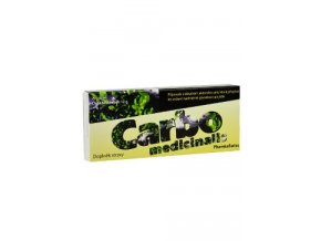 Carbo Medicinalis PharmaSwiss tbl 20