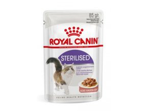 Royal Canin Feline Sterilised kapsa, šťáva 85g