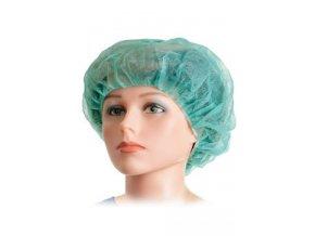 Čepice operační BARET Standard 52cm zelená 100ks