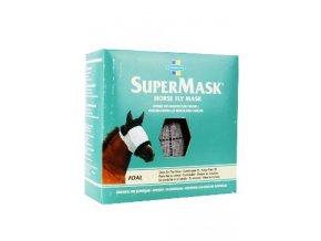 FARNAM Supermask II bez uší vel. FOAL/PONNY šedo-černá