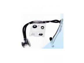 Fonendoskop dvoukomůrkový 2-hadičkový černý