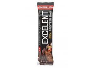 Nutrend Excelent Protein Bar Čokoláda s oříšky 85g