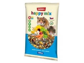 Darwin's Drobný Hlodavec Happy mix 500g