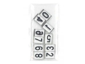 RTG Sada čísel 10mm Pb