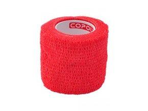 Obinadlo elast. CoPoly 5cm x 4,6m červená