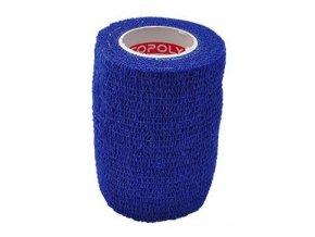 Obinadlo elast. CoPoly 7,5cm x 4,6m modrá