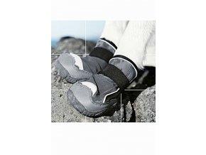 Botička ochranná Hurtta Outback Boots černá M 2ks