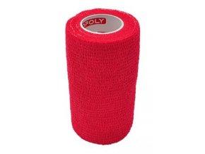 Obinadlo elast. CoPoly 10cm x 4,6m červená