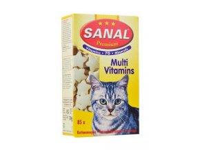 Sanal kočka Premium CAT 85 multivitamíny 85tbl