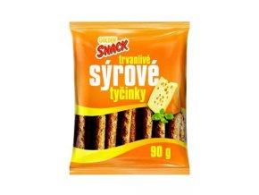 Cukrovinky Tyčinky sýrové Snack 90g