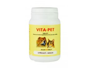 Vita Pet vanilka 75tbl
