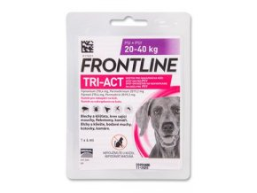 FRONTLINE TRI-ACT spot-on pro psy L (20-40 kg)-1x4ml