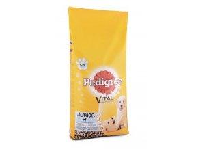 Pedigree Dry Junior s kuřecím a rýží 15kg