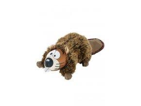 Hračka pes HECTOR BEAVER FRIENDS plyš hnědá 24cm Zolux