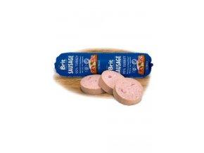 Brit Sausage Turkey 800g New