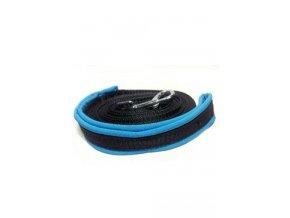 Vodítko DINOFASHION stopovací s rukojetí 10m modrá
