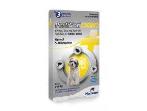Pestigon Combo 67mg spot-on S malí psi 3x0,67ml