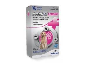 Pestigon Combo 268mg spot-on L velcí psi 3x2,68ml