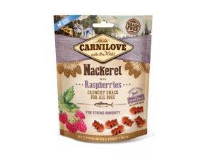 Carnilove Dog Crunchy Snack Mackerel&Raspberries 200g