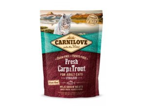 Carnilove Cat Fresh Carp & Trout Sterilised Adult 400g