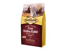 Carnilove Cat Fresh Chicken & Rabbit for Adult 2kg
