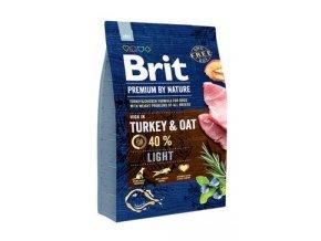 Brit Premium Dog by Nature Light 3kg