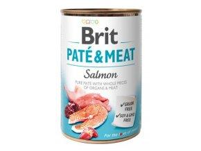 Brit Dog konz Paté & Meat Salmon 400g