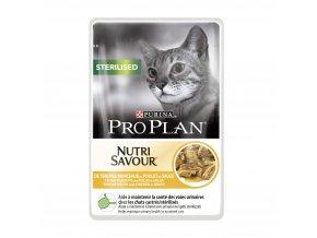 pro plan cat sterilised kure kapsicka 24x85g 1