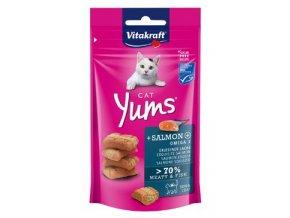 Vitakraft Cat pochoutka Yums losos 40g