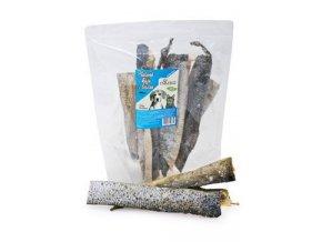 NATURECA pochoutka Losos kůže sušená 25-30cm 150g