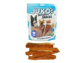 Juko excl.Smarty Snack Salmon strip with fishskin 250g