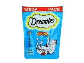 Dreamies kočka pochoutka Mega Pack s lososem 180g