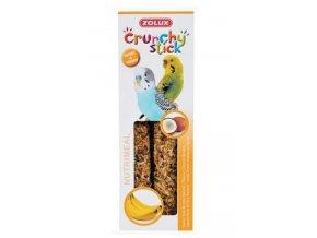Crunchy Stick Parakeet Kokos/Banán 2ks Zolux