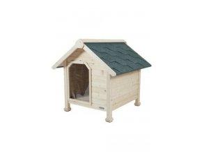 Bouda dřevěná pro psy L 95x101x95cm Zolux