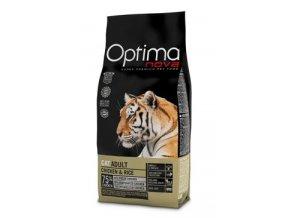 Optima Nova Cat Adult chicken & rice 400g