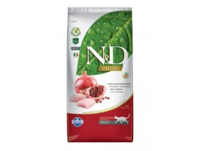 N&D PRIME CAT Adult Chicken & Pomegranate 1,5kg