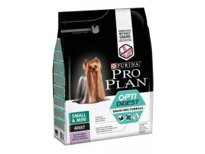 ProPlan Dog Adult Sm&Mini OptiDigest GrainFr krůt2,5kg