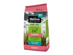 Nativia Dog Puppy Lamb&Rice 3kg