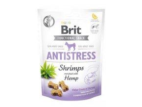 Brit Care Dog Functional Snack Antistress Shrimps 150g