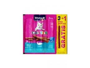 Vitakraft Cat pochoutka Stick Losos 3x6g