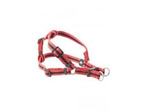 Postroj BUSTER Airmesh reflexní M, 25mm červený