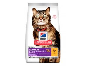 Hill's Fel. Dry SP Adult Sen.Stomach&Skin Chicken 7kg