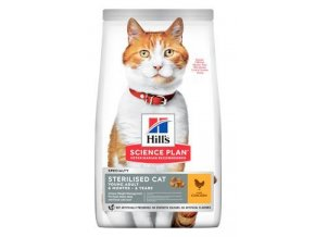 Hill's Fel. Dry SP Adult Young Steril. Cat Chicken300g