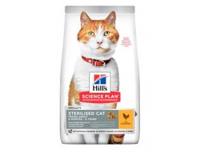 Hill's Fel. Dry SP Adult Young Steril. Cat Chicken 3kg