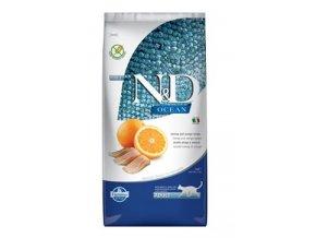 N&D OCEAN CAT Adult Herring & Orange 5kg